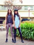 Lauren Levine,20, (right) Ashley Levine,20, (Left)
