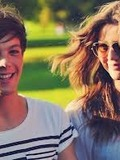Louis Tomlinson and Eleanor Calder.