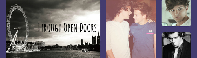 Through Open Doors {Larry Stylinson Sequel}