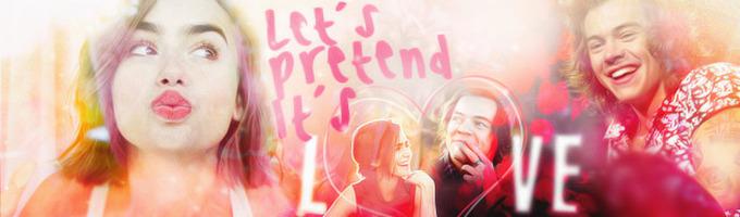 Let's Pretend It's Love